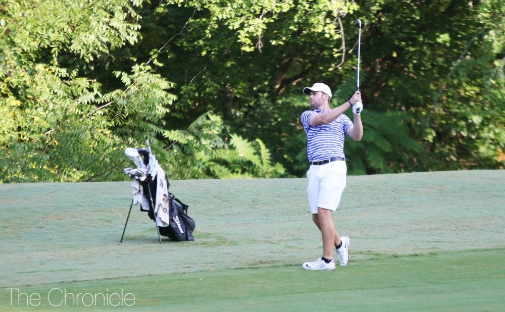 <p>Senior Adam Wood parred the final 12 holes of the tournament to come from behind and earn the individual title Sunday.</p>