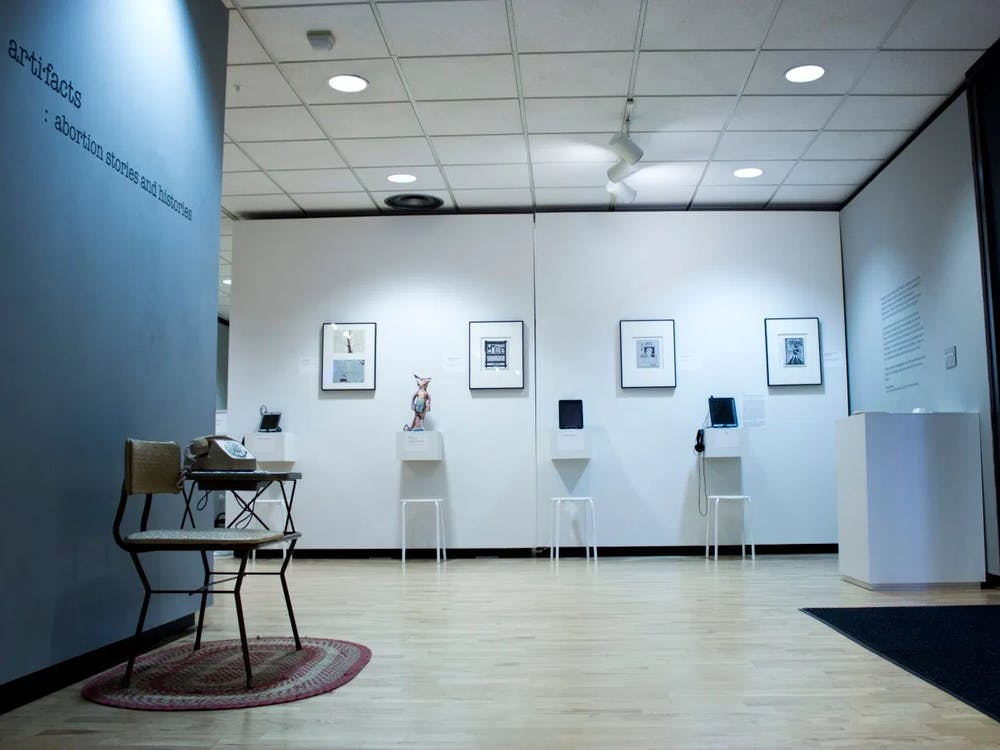 """This semester, the Center for Documentary Studies will be displaying """"Ar·ti·facts: Abortion Stories and Histories,"""" a traveling multi-media exhibition that reveals untold abortion experiences."""