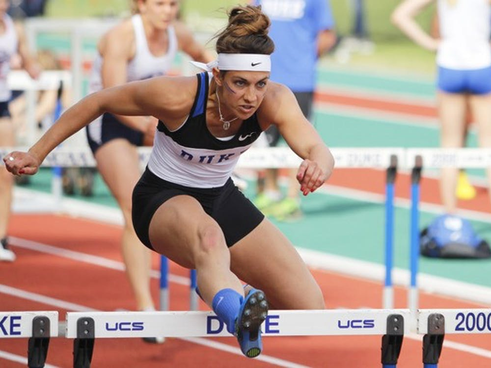 Redshirt junior Teddi Maslowski will compete in the heptathlon at the NCAA outdoor championships but is nursing a leg injury and will not be at full strength.