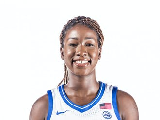 In her fourth year with the program, Akinbode-James will add depth to the Blue Devils' frontcourt.