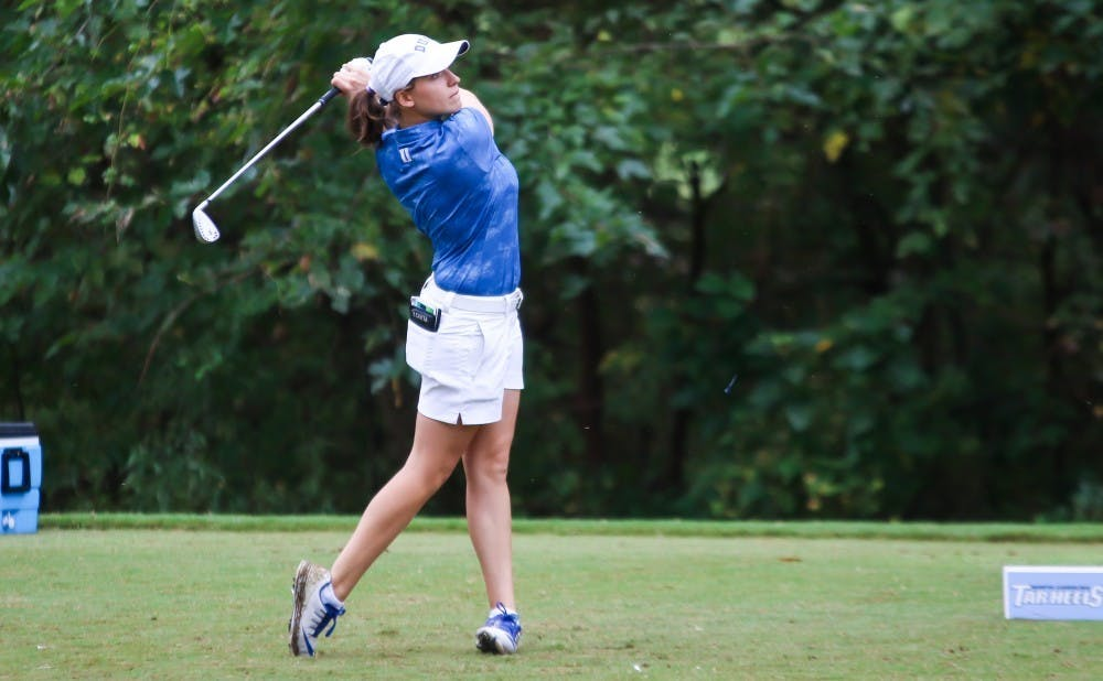 Virginia Elena Carta hopes to end her career on a high note at the NCAA championship.
