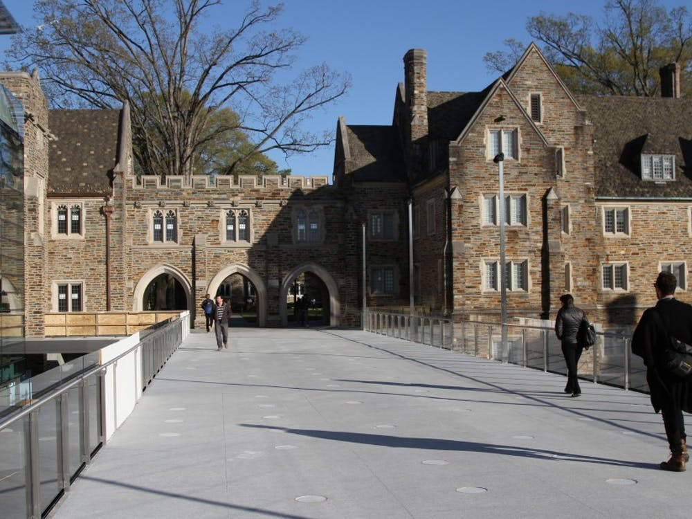Many students said that the opening of the Bryan Center walkway was convenient for easier access to campus eateries and class buildings.