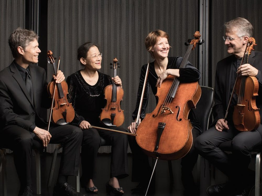 Cellist Caroline Stinson joined the Ciompi Quartet this year after Frederic Raimi retired. The group will have their first show in Baldwin Auditorium Sept. 29.