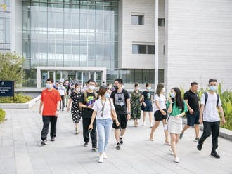 DKU has asked students in Kunshan to suspend unnecessary travel, including to the neighboring cities of Suzhou and Shanghai.