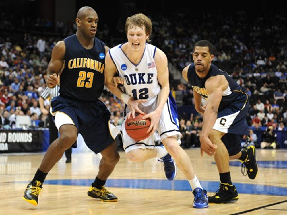 The Blue Devils only committed five turnovers, their fewest of the season, Sunday against California.