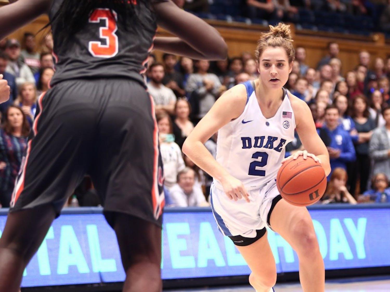 Haley Gorecki dropped 26 points Thursday.