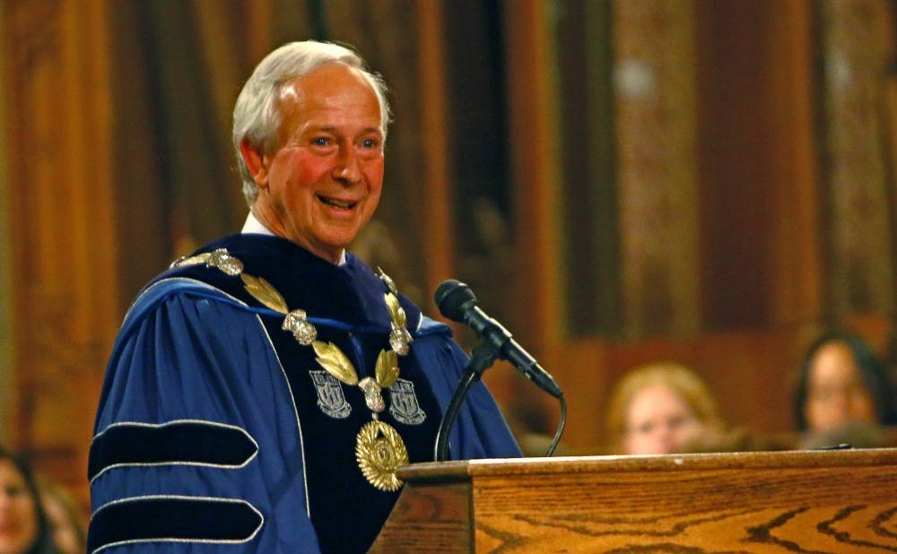 President Richard Brodhead is one of four recipients of the Academic Leadership Award.