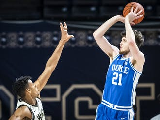 Matthew Hurt impressed yet again for the Blue Devils, finishing with 22 points on 8-of-9 shooting from the floor.