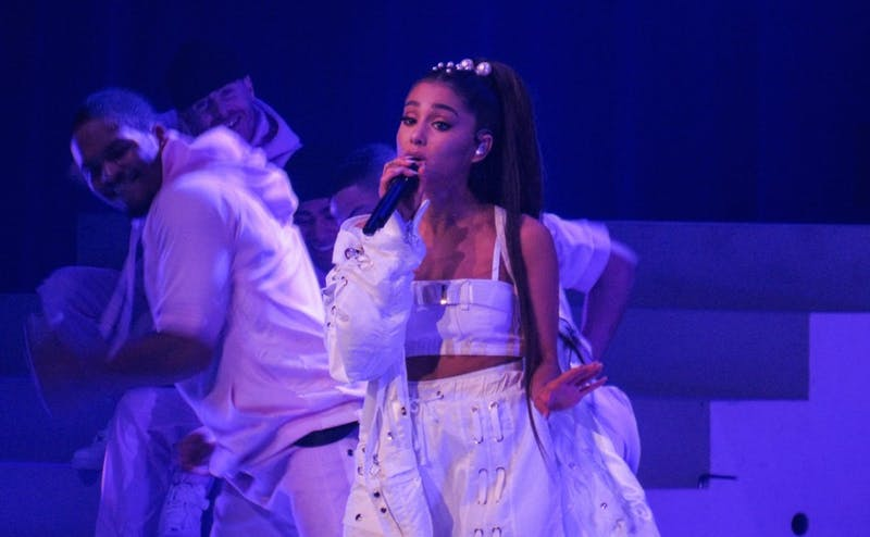 """After breaking up with her fiancée Pete Davidson, Ariana Grande released """"thank u, next"""" Nov. 3."""