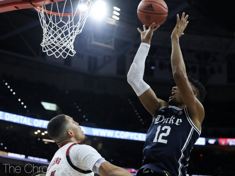 """After the Blue Devils' loss to N.C. State, Javin DeLaurier declared, """"We can't come out and keep putting ourselves in such big holes early."""""""