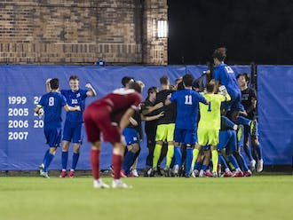 Nick Pariano's last-minute goal was a bright spot in Duke athletics this week.