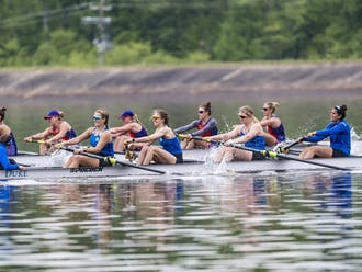 Duke found itself in a back-and-forth battle with Clemson for both days of the Lake Wheeler Invitational.