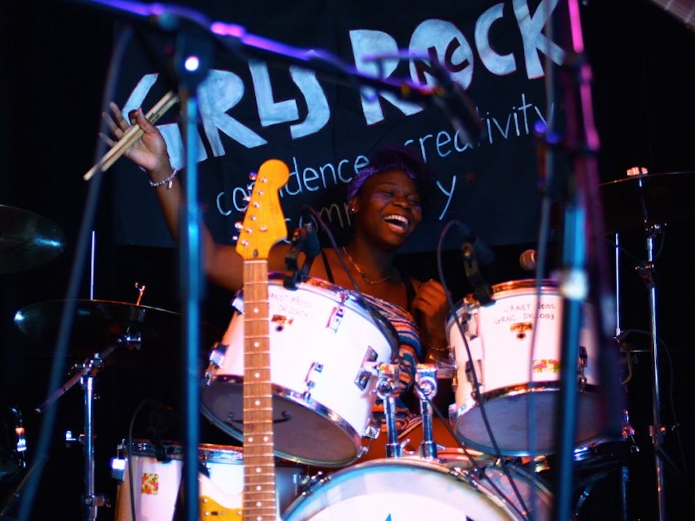 "Girls Rock NC's annual ""Rock Roulette"" takes place March 31, part of the organization's effort to encourage confidence and empowerment through creative expression in people of marginalized genders."