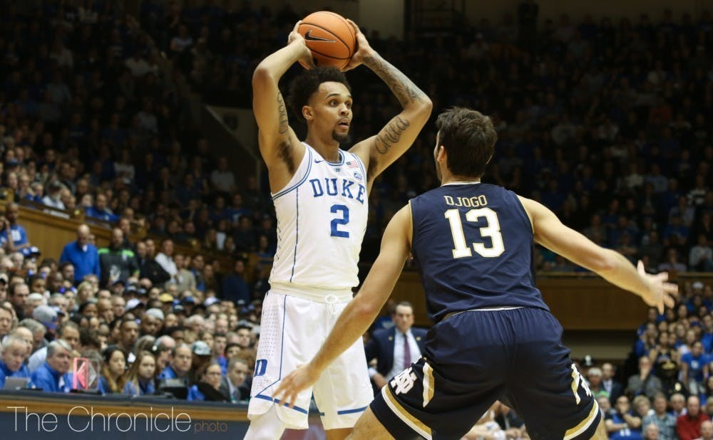 Gary Trent Jr. scored a career-high 44 points Saturday against the Cavaliers.