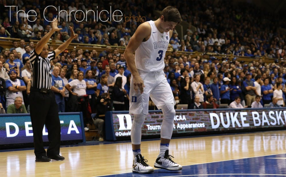 <p>Allen played his best half of the season Saturday, knocking down 6-of-9 shots and 4-of-6 3-pointers to get his 21 points.&nbsp;</p>
