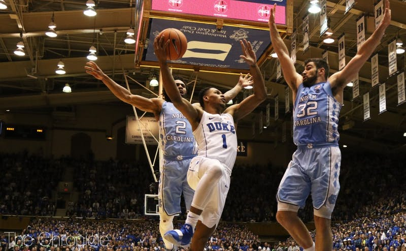 Duke was able to get to the line consistently, but struggled to convert once it got there.