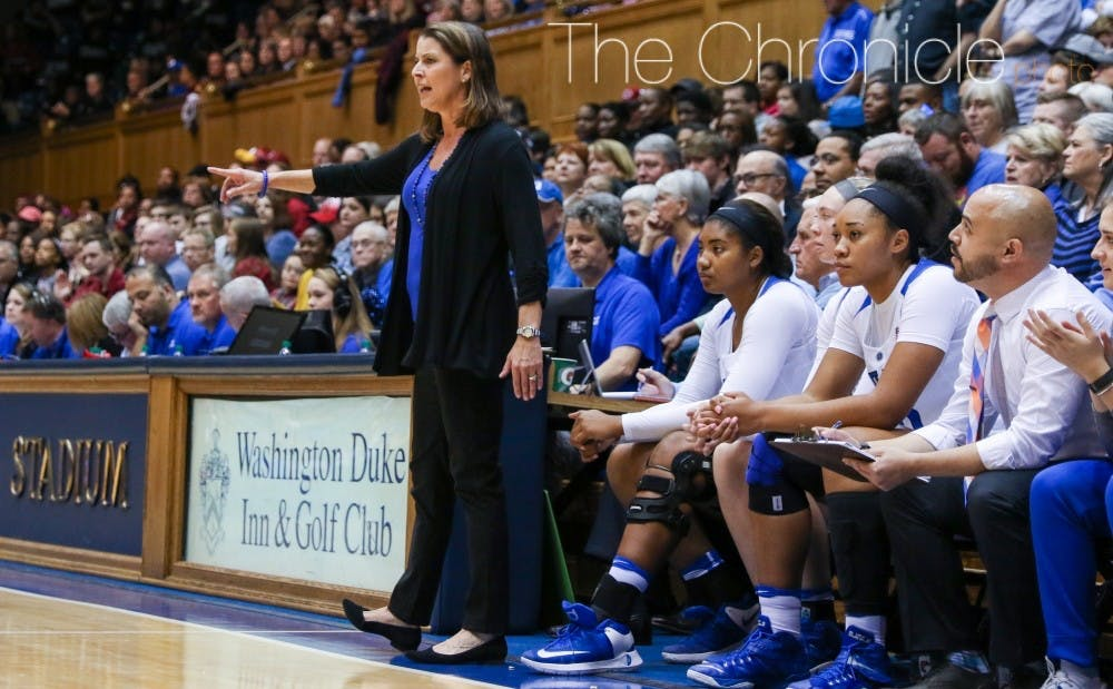 """<p>McCallie and recruiting coordinator Hernando Planells sought out recruits with strong families and """"truth-seekers"""" who loved Duke through a turbulent time for the program.</p>"""