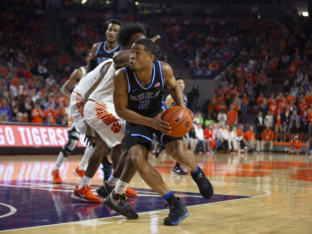"""Cassius Stanley and his teammates learned that """"everyone's coming"""" for the Blue Devils after their loss Tuesday."""