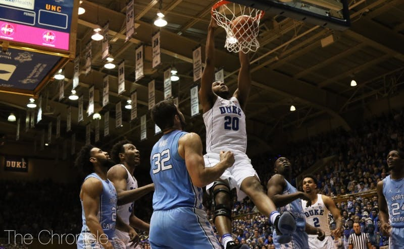Marques Bolden will need to play a major role for Duke this season.