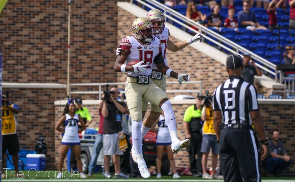 <p>Florida State did not score a touchdown for a 45-minute span, but pulled out the victory in a defensive struggle.</p>