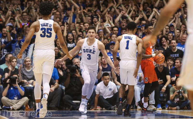Duke had a poor shooting day but still won by 16.