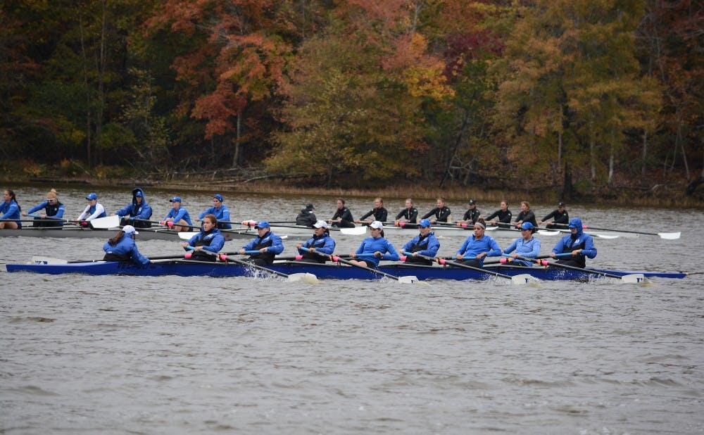 <p>New head coach Megan Cooke Carcagno wants the Blue Devils to train on the water five times per week as Duke readies for its first competition of the season Nov. 1.</p>