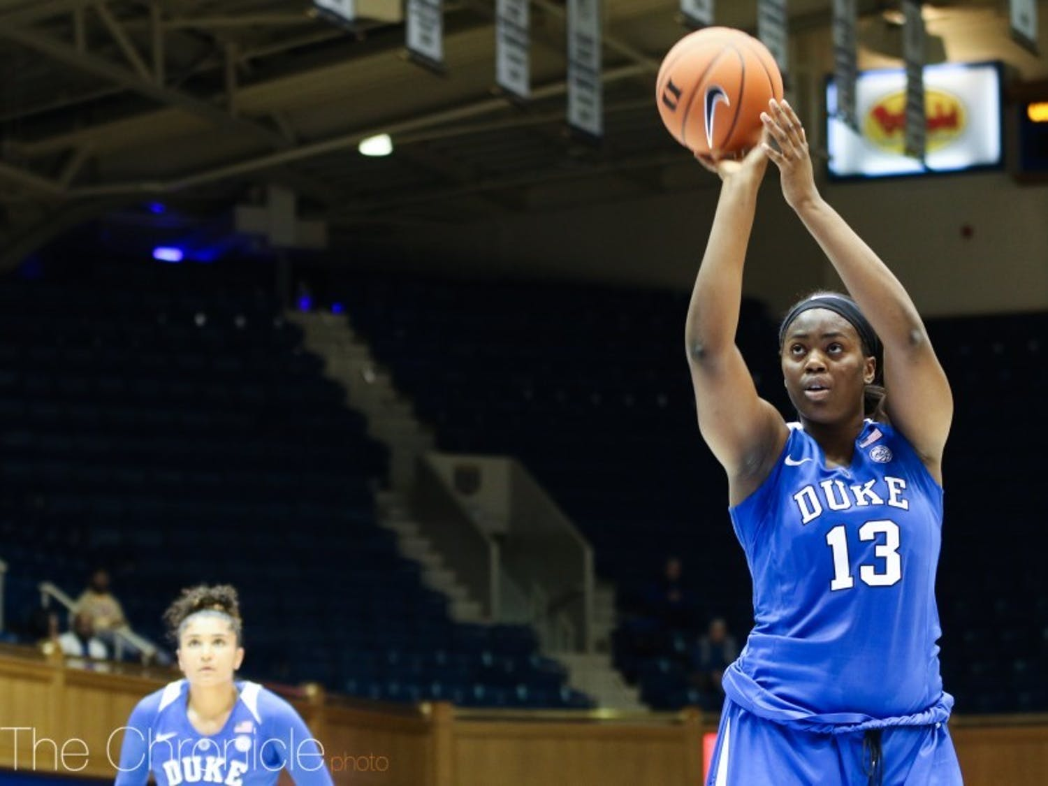 Uchenna Nwoke played in just eight games last season, totaling two points and three rebounds