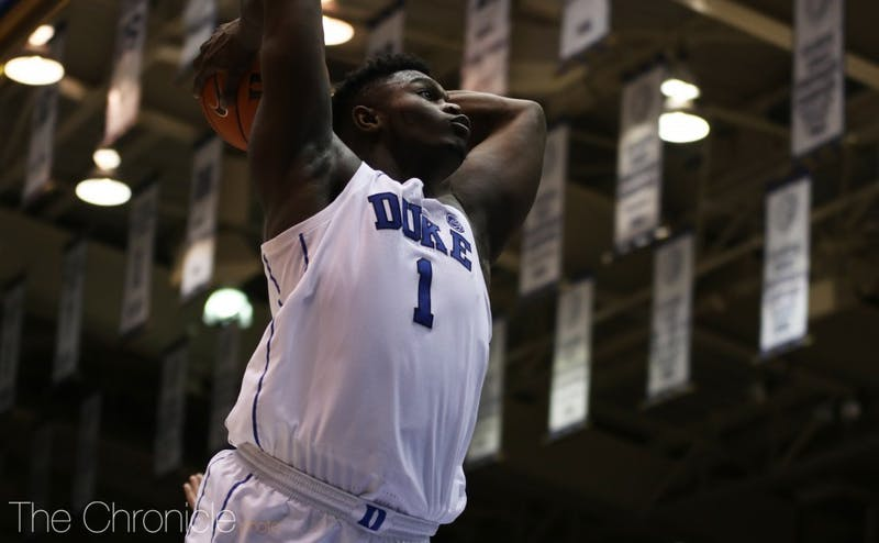 Zion Williamson electrified the college basketball world in his lone season at Duke.