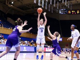 Miela Goodchild and Duke's guards will be tested defensively.