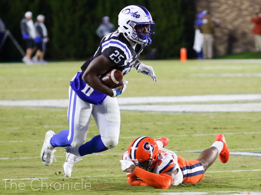 Duke needs to gain the upper hand in the run game on both sides of the ball in order to come away with a victory against the Orange.