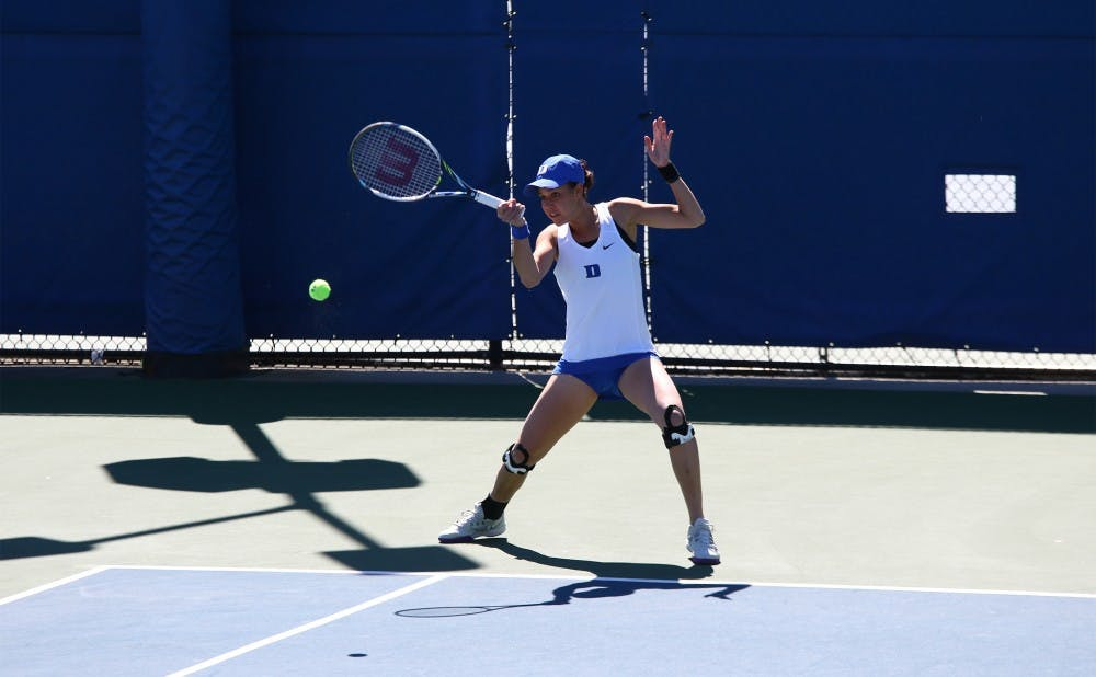 <p>Capra and No. 8 Duke are hoping to clinch a top-four seed in the ACC tournament by winning their final three matches of the regular season this week.</p>