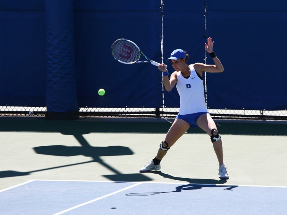 Capra and No. 8 Duke are hoping to clinch a top-four seed in the ACC tournament by winning their final three matches of the regular season this week.