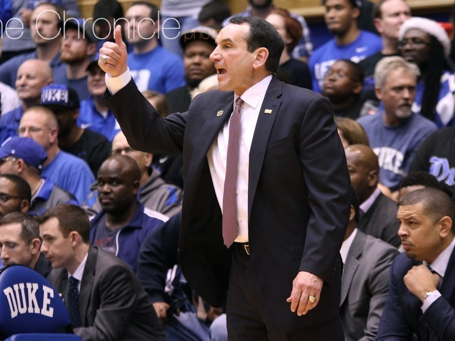 Graduate transfer Bates Jones aims to be an on and off-court contributor for the young Blue Devils.