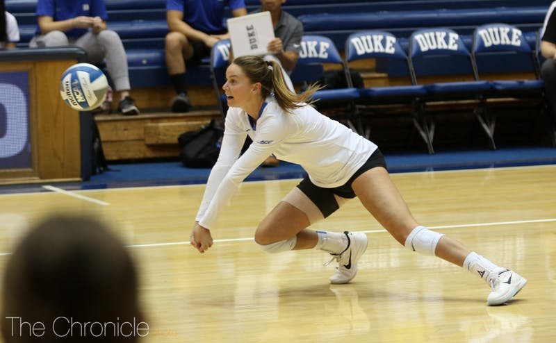Cadie Bates won the last two games of her college career with strong performances against North Carolina and N.C. State.
