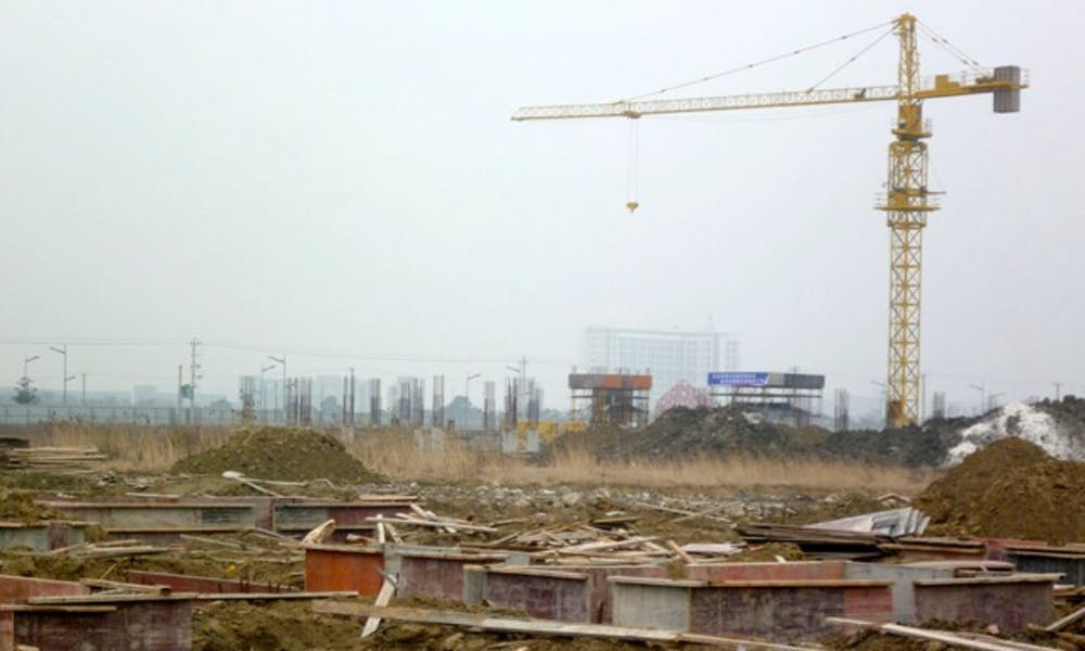 Duke Kunshan University is undergoing construction and is on target for a Fall 2012 opening.