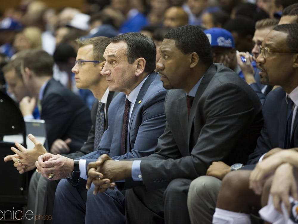 Duke men's basketball head coach Mike Krzyzewski released a powerful statement Friday evening.