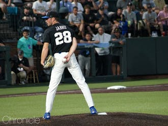 Bryce Jarvis and the Blue Devils will welcome Army to Durham this weekend.