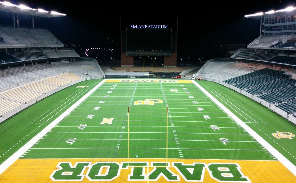 <p>Baylor's football team has been the subject of a widespread sexual assault investigation involving players from 2012-16.</p>