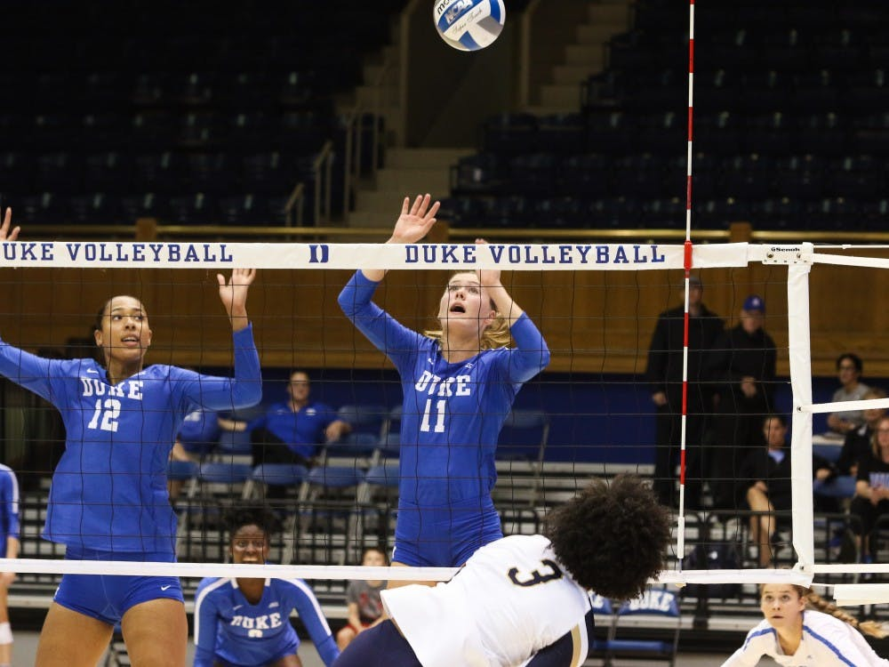 Payton Schwantz put together fine performances despite Duke losing.