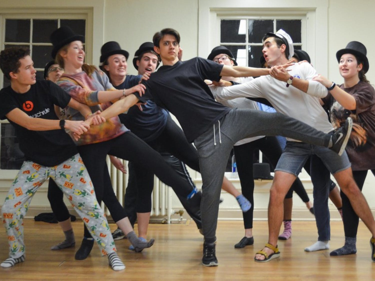 """Hoof 'n' Horn's winter production """"Company"""" opens Thursday, Jan. 25 in the Bryan Center's Sheafer Lab Theater and runs for two weekends."""
