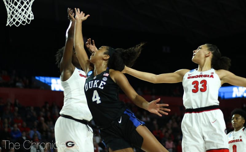Lexie Brown will join former Blue Devil point guard Jasmine Thomas in the Connecticut Sun's backcourt.