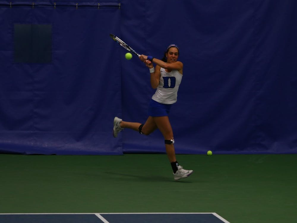 Beatrice Capra and No. 10 Duke kicked off a grueling stretch with a 6-1 win at No. 14 Wake Forest Saturday afternoon.
