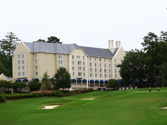 The Trustees convened at the Washington DukeInn and Golf Club to discuss a myriad of issues, including undergraduate tuition and Duke's affordability.