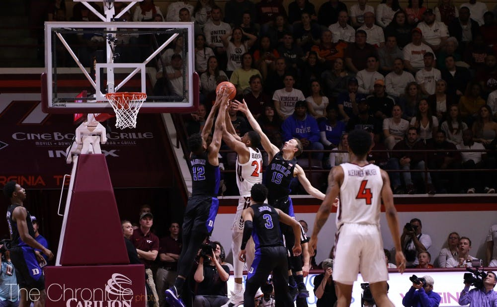 <p>Virginia Tech has a talented inside scorer in Kerry Blackshear Jr., but the Hokies are, by far, most dangerous from the perimeter.</p>