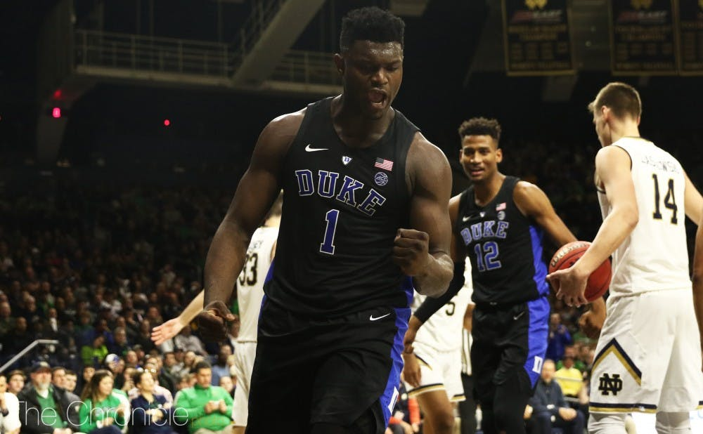 <p>Zion Williamson looks to feast Saturday.</p>