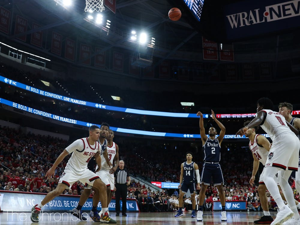 The Blue Devils shot just 10 for 22 from the free throw line Wednesday.