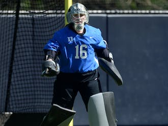 Freshman goalie Piper Hampsch notched a career-high 19 saves in the defeat, more than double her previous career-high.