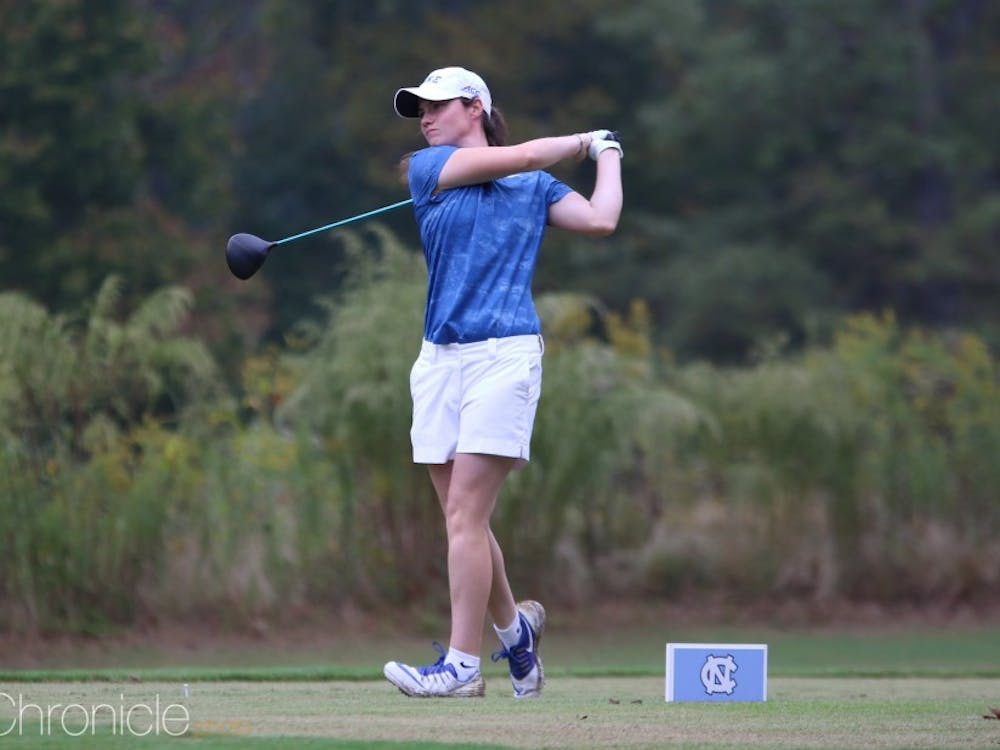 Leona Maguire shot 12-under-par for 54 holes to take home the individual title in Chapel Hill.