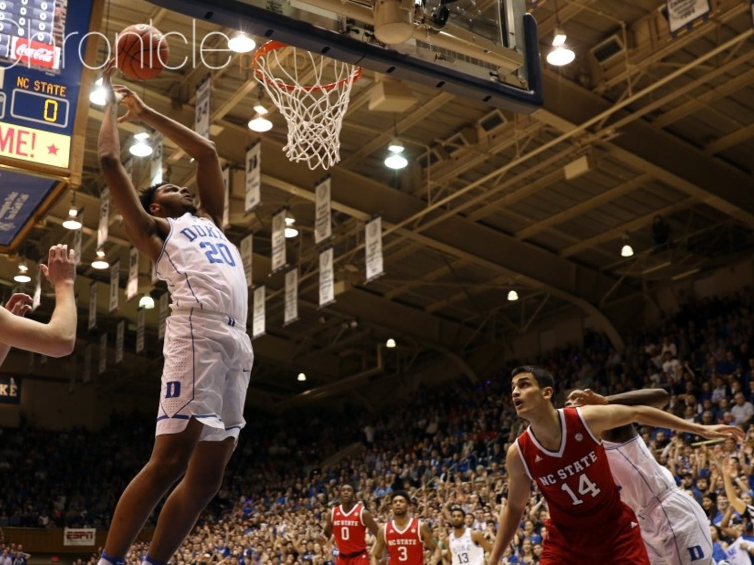 According to multiple reports, Marques Bolden will become Duke's third transfer this offseason.