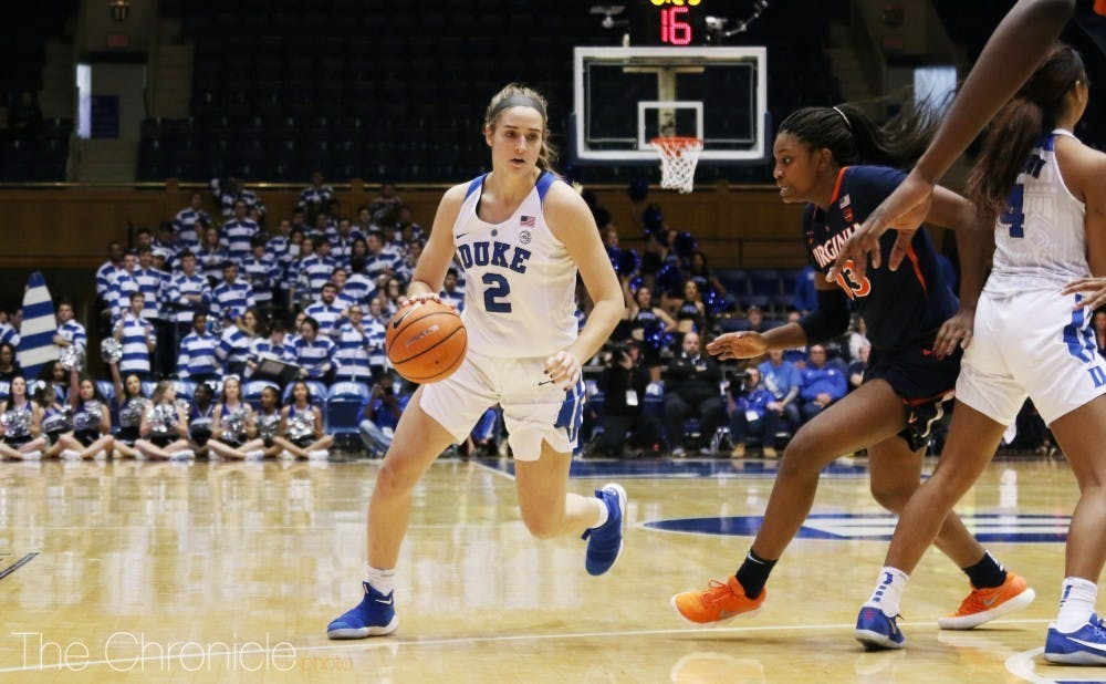 After missing a year and a half prior to this season with multiple injuries, Haley Gorecki will be sidelined again.